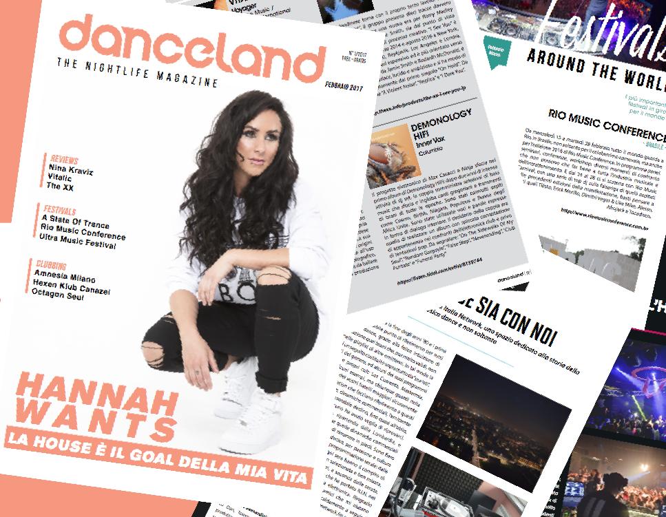 Danceland di febbraio apre la dj inglese Hannah Wants