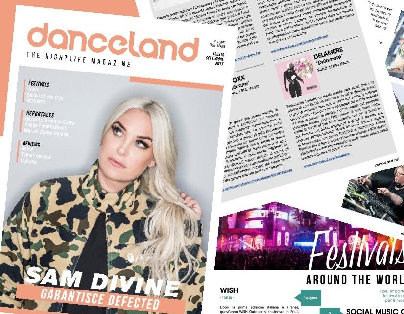 Danceland di agosto/settembre Sam Divine e tanto altro