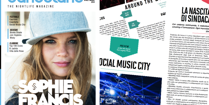 Danceland di aprile 2018 è online
