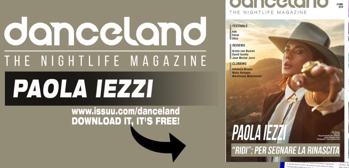 Danceland di ottobre 2018 con Paola Iezzi