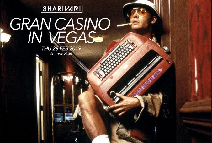 Strakton Records Gran Casino Party, giovedì 28 febbraio 2019 allo Shari Vari di Roma