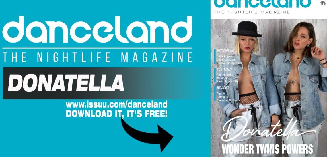 Danceland di aprile con le Donatella