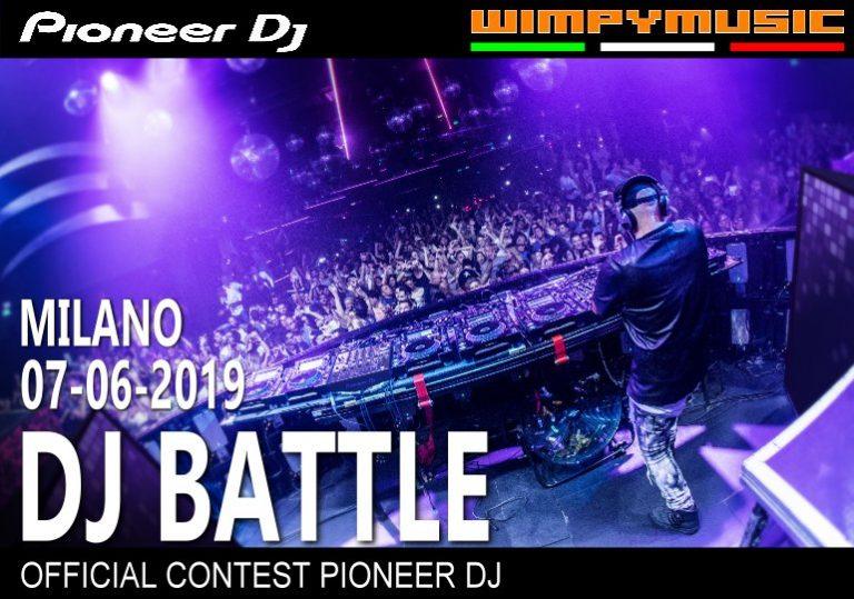 DJ Battle da Pioneer DJ e Wimpy: accetti la sfida?