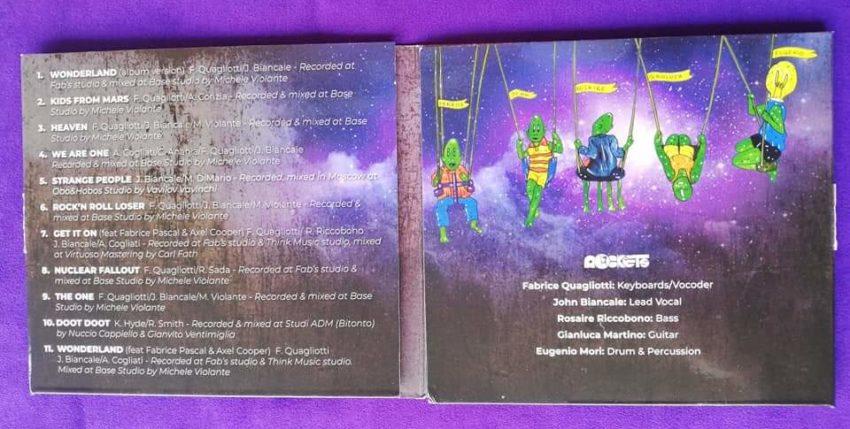 Il sogno nell'ultimo album dei Rockets