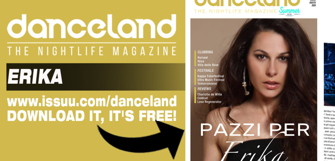 Erika cover story sul nuovo Danceland