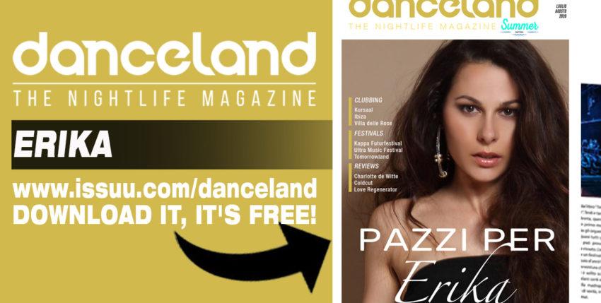 Erika cover story sul nuovo Danceland