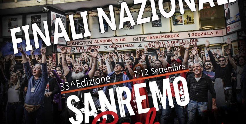 Le Finali di Sanremo Rock al Teatro Ariston questo weekend