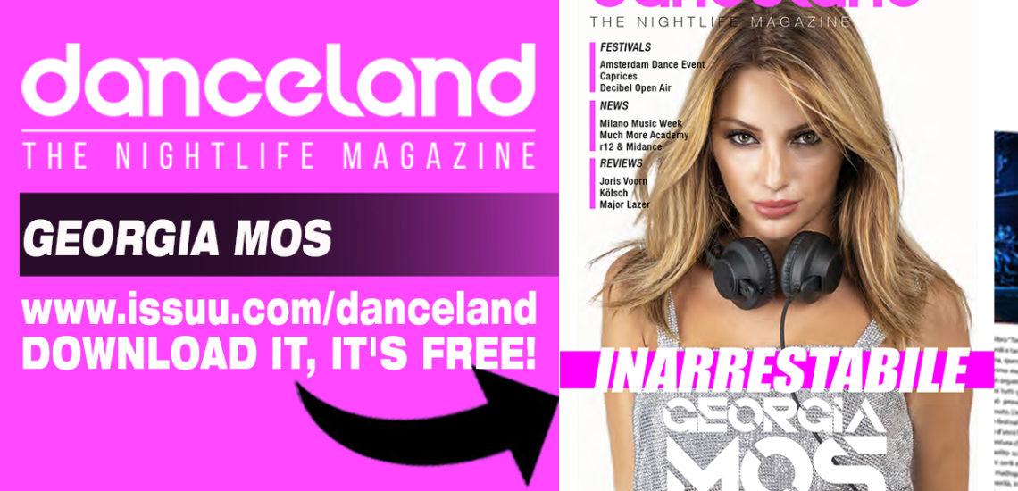 Georgia Mos per la cover story di Danceland di ottobre