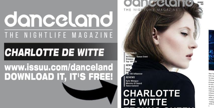 Ecco Danceland n. 8 – 2020 con Charlotte de Witte