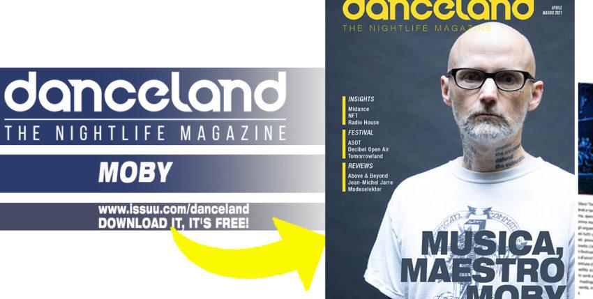 Fuori Danceland di aprile / maggio con Moby
